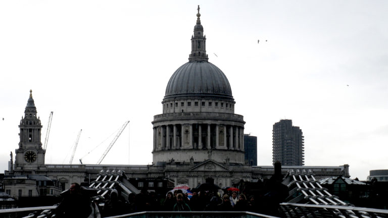 Die St. Pauls Cathedral in London