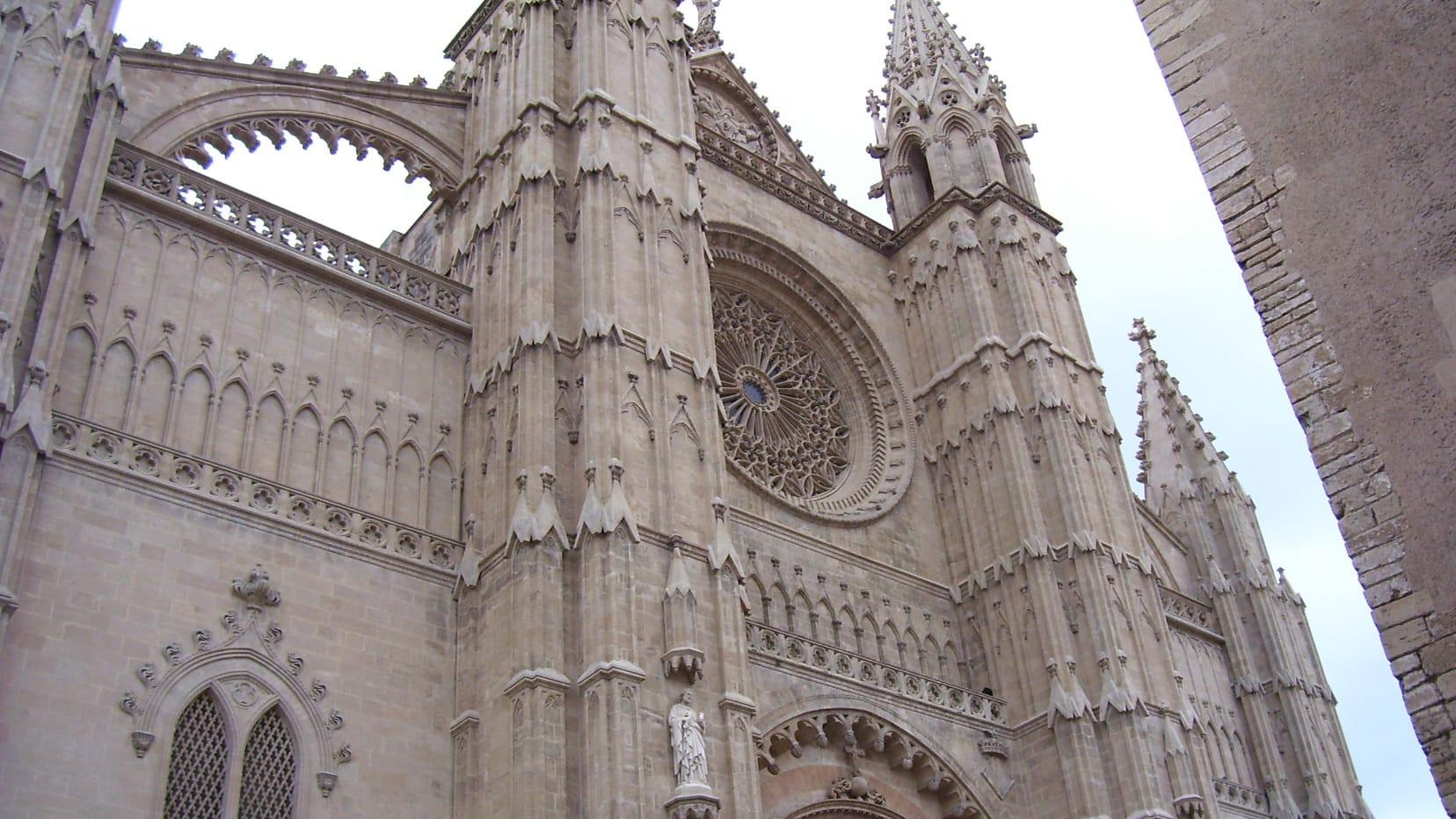 Die Kathedrale in Palma de Mallorca