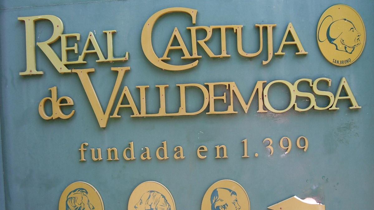 Ortsschild von Valldemossa