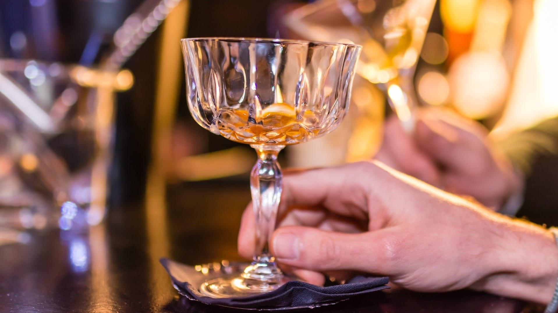 Rum in einem Glas auf Martinique