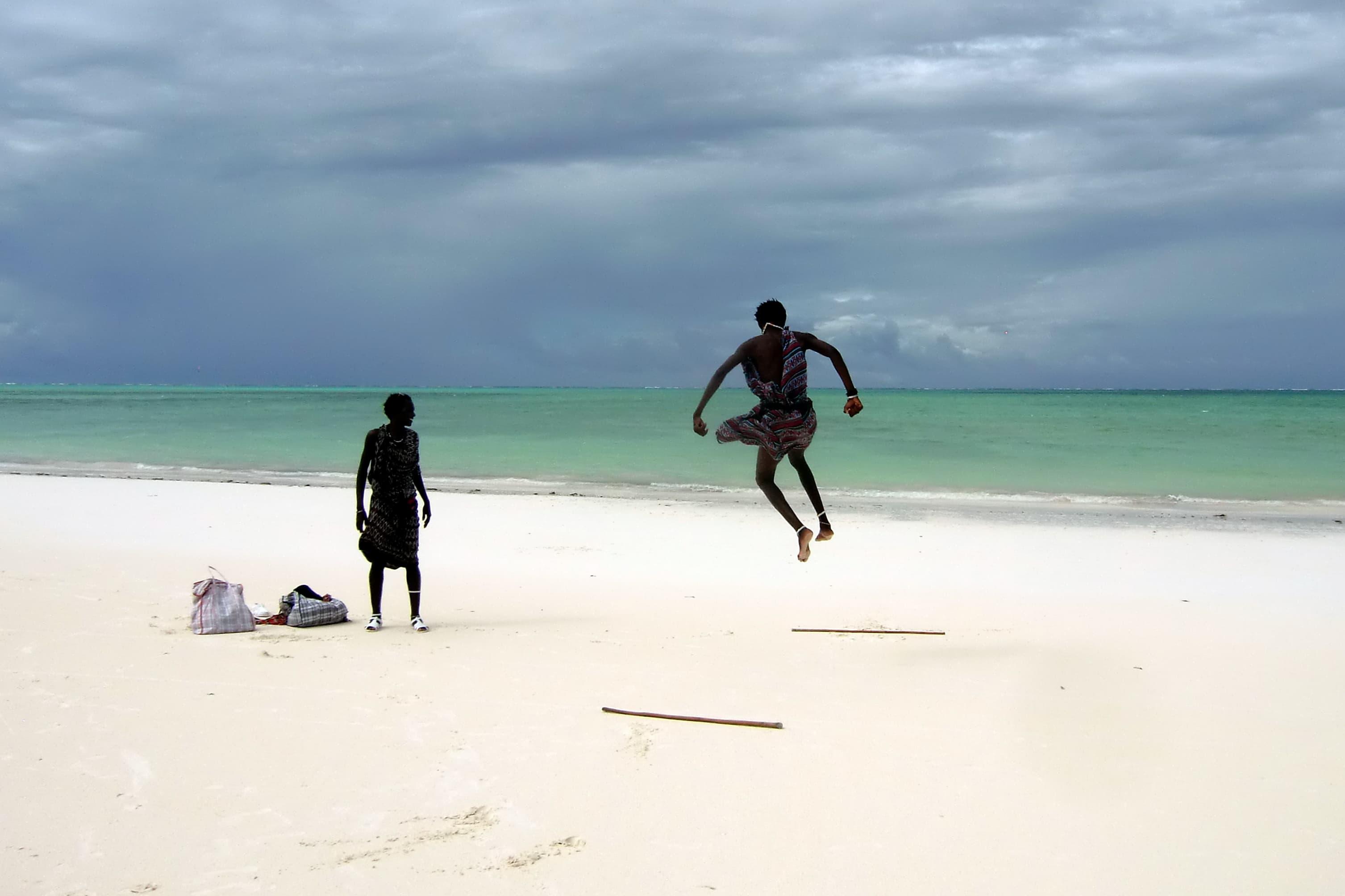 Beachboys in Paje auf Sansibar