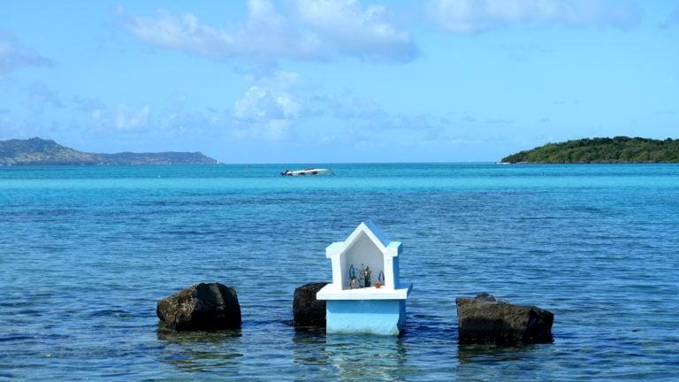 Pointe d'esny in Mauritius