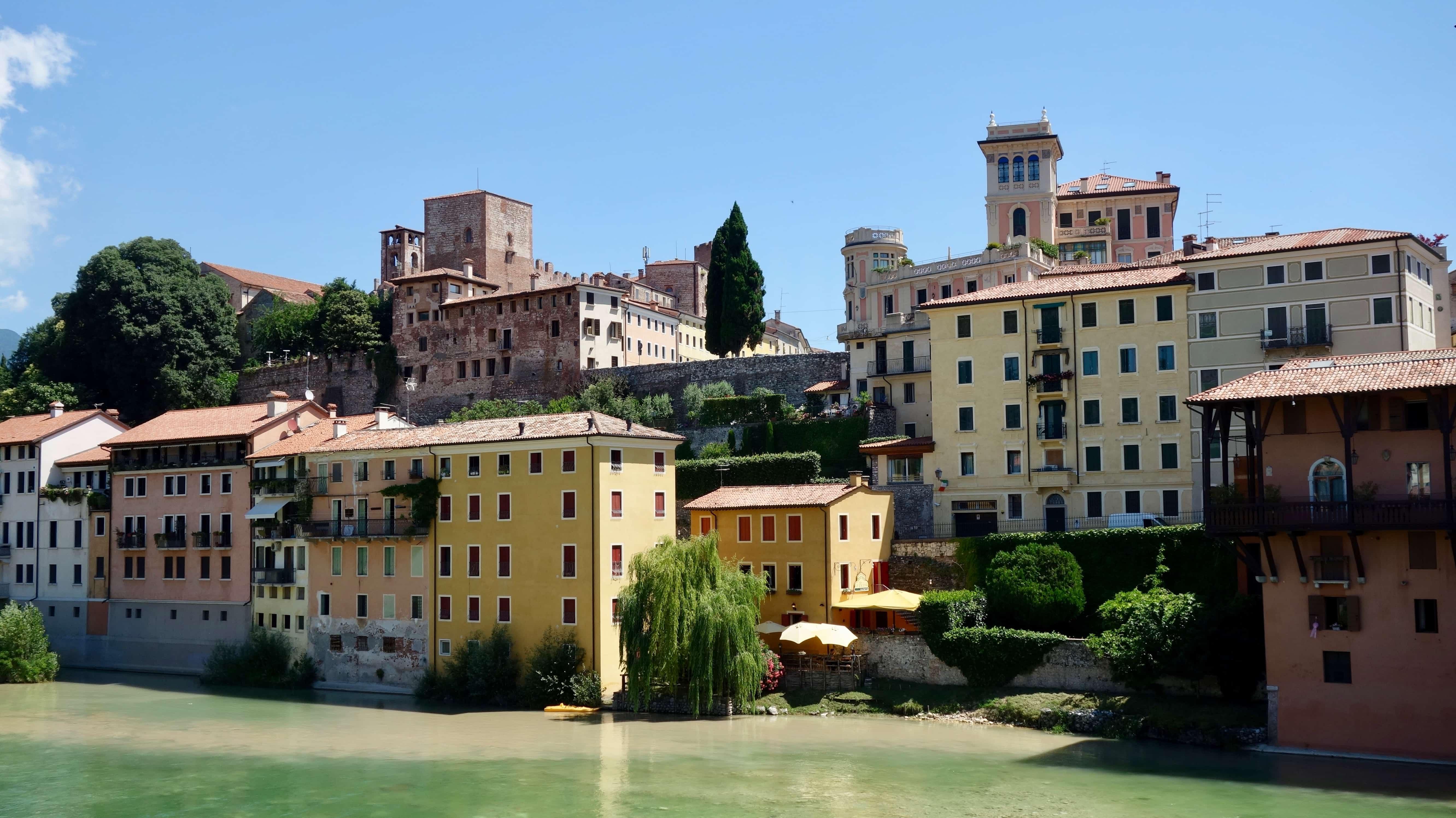 Miss Move Doro Staub reist zur Bassano del grappa