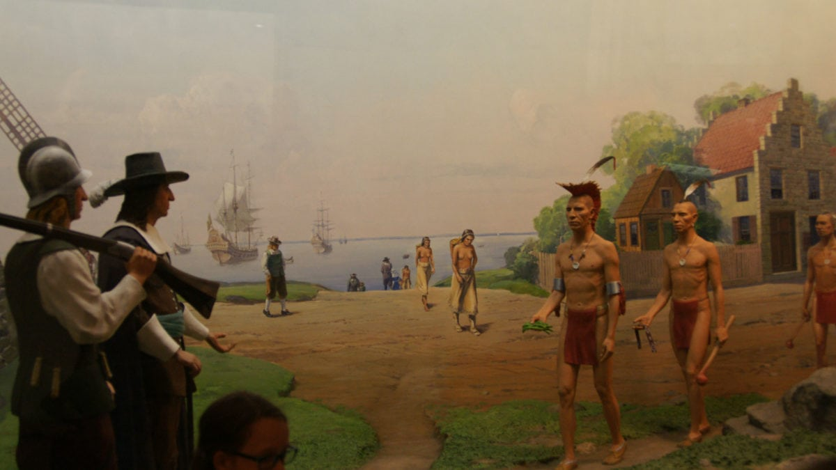 Indianer New York Natural History Museum