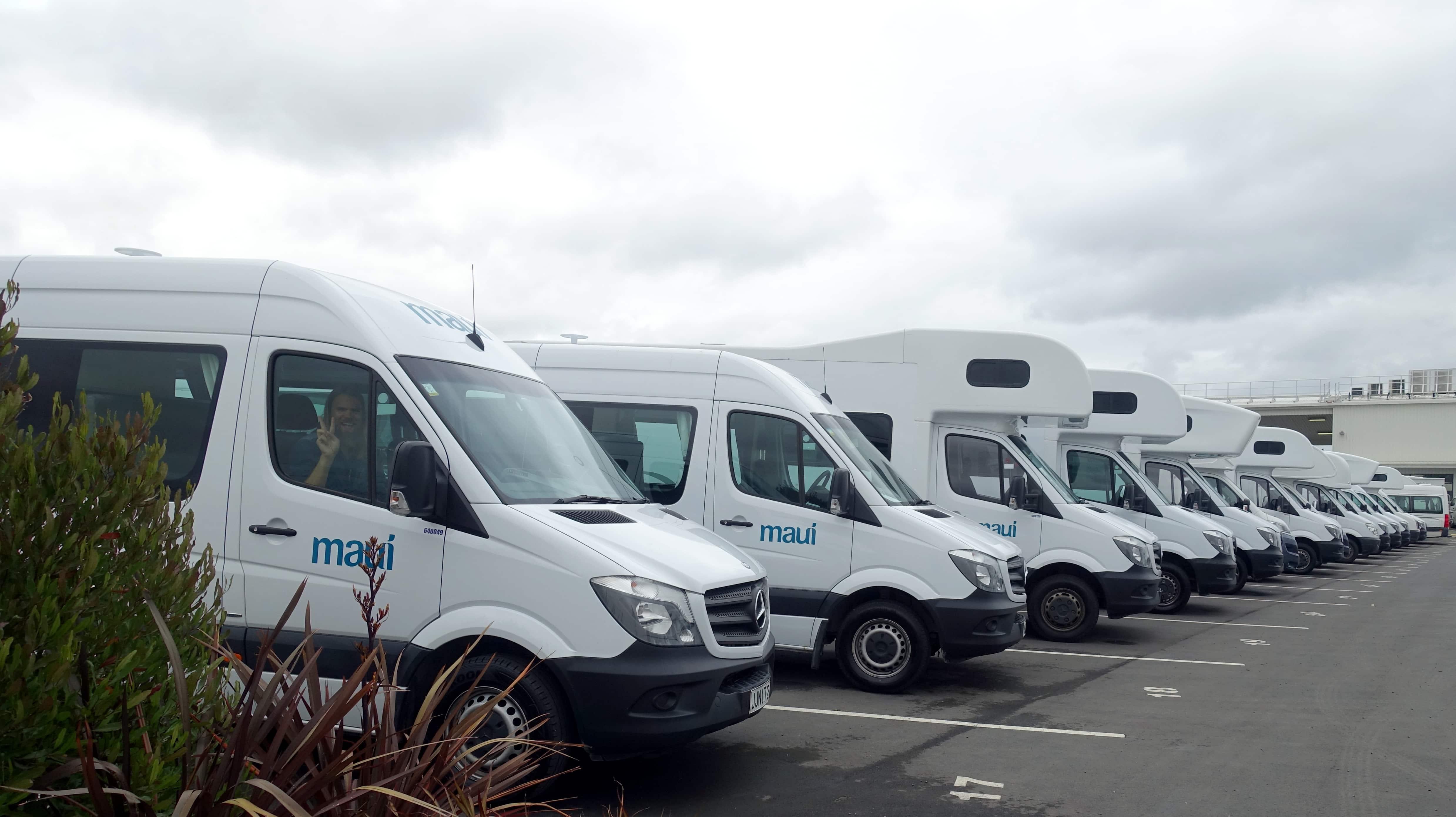 Wir haben unseren Maui Campervan in Neuseeland über Bestcamper gebucht.