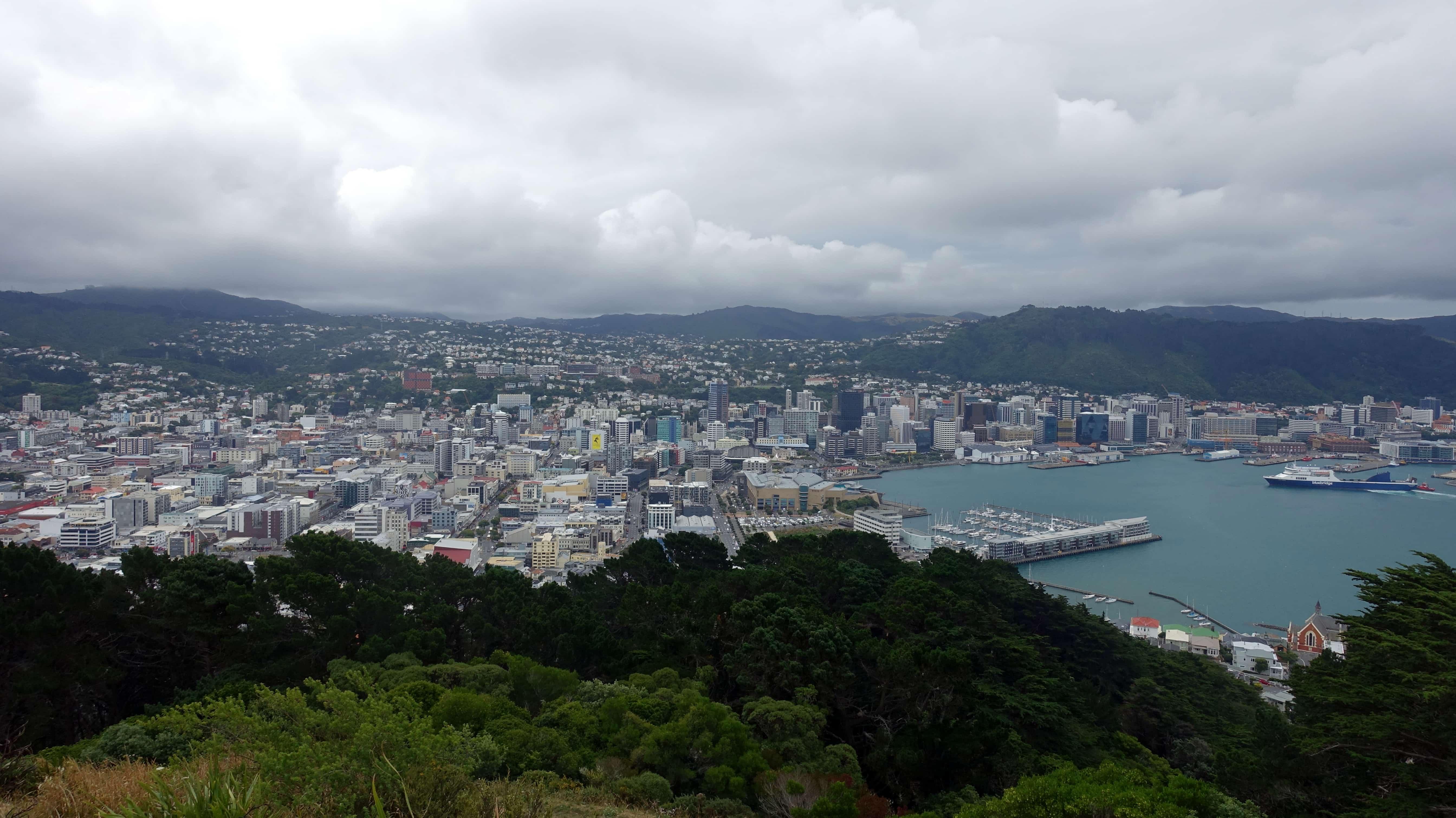 Silvester in Wellington in Neuseeland