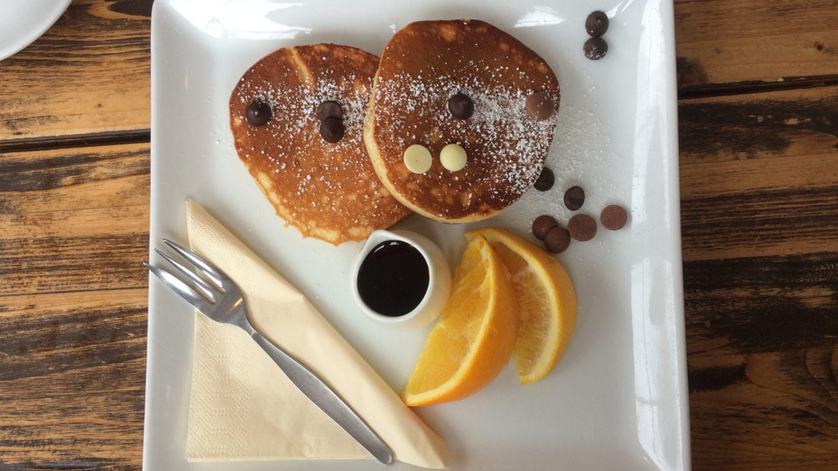 Pancakes in Florenz