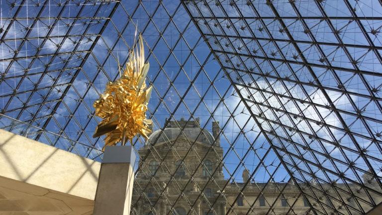 Die Glaspyramide von Paris