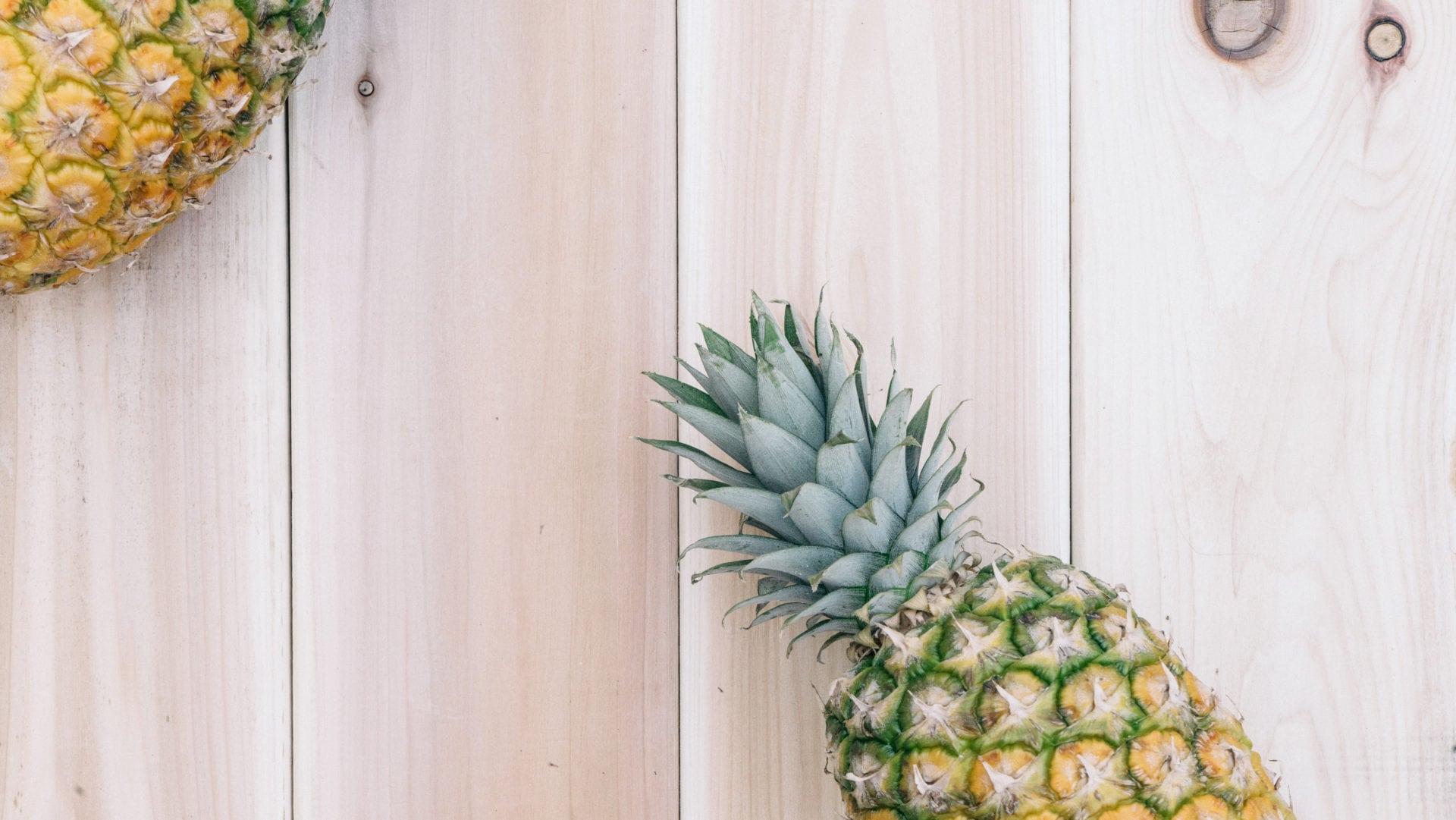 Ananas für die Presseseite