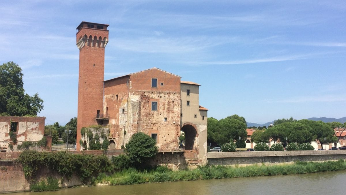 Spazieren in Pisa mit Aussicht