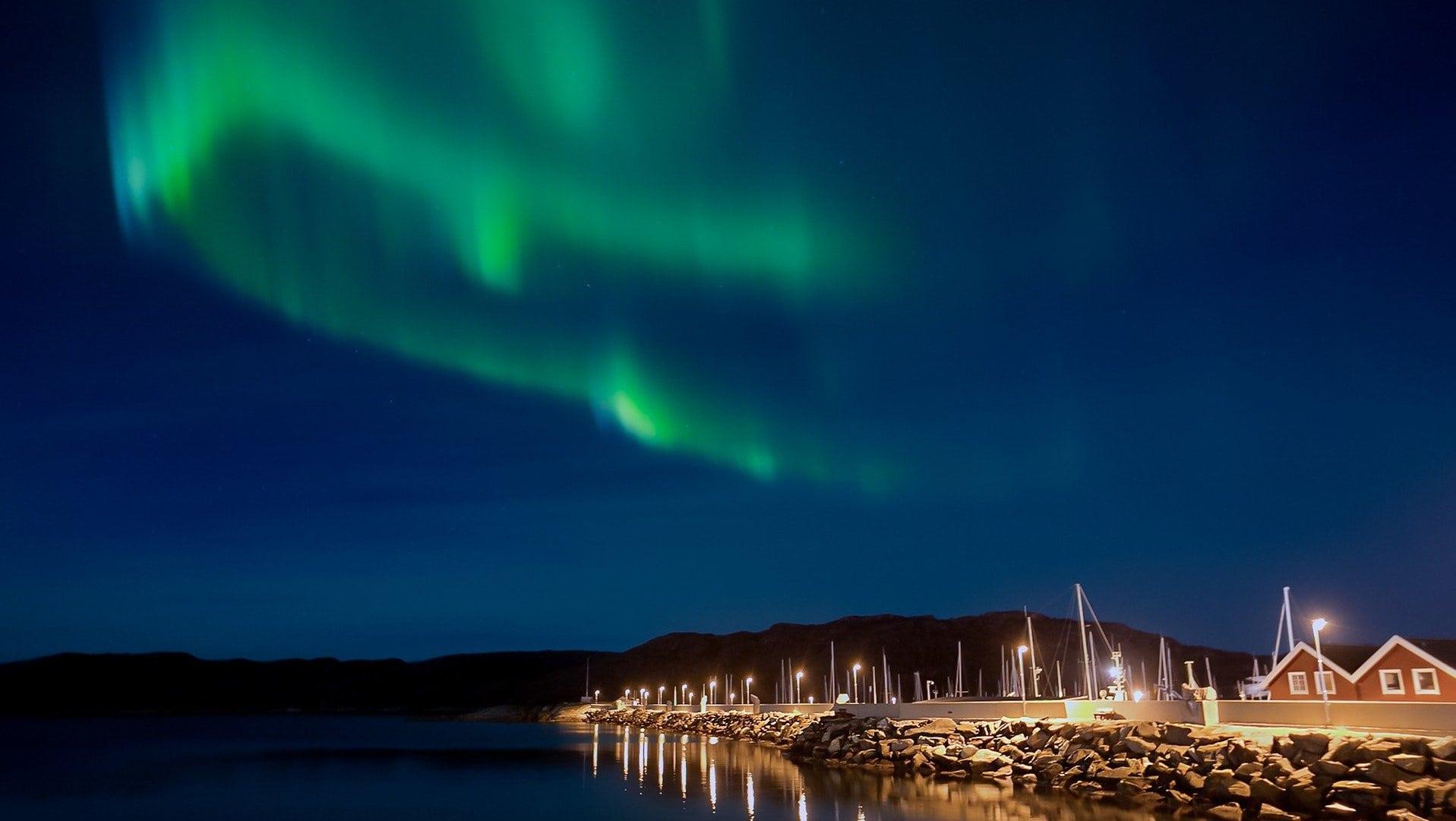 Wenn wir nicht zu den Polarlichtern kommen, kommen die Polarlichter eben zu uns – per Webcam!