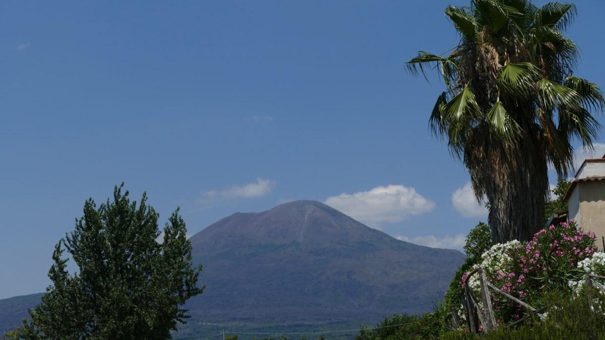 Der Vesuv in Pompeji