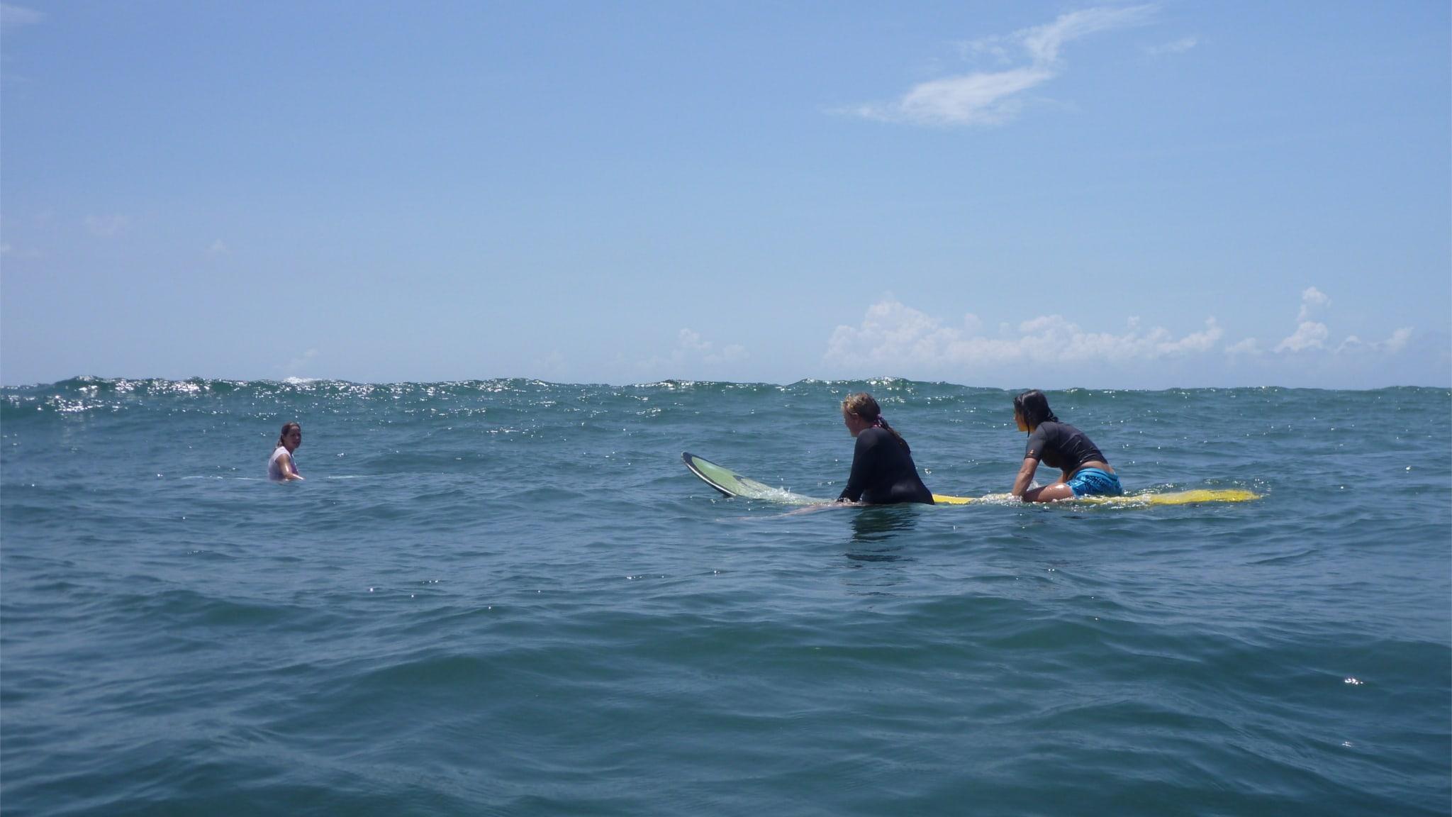 Surfen hat auch viel mit Achtsamkeit zu tun.