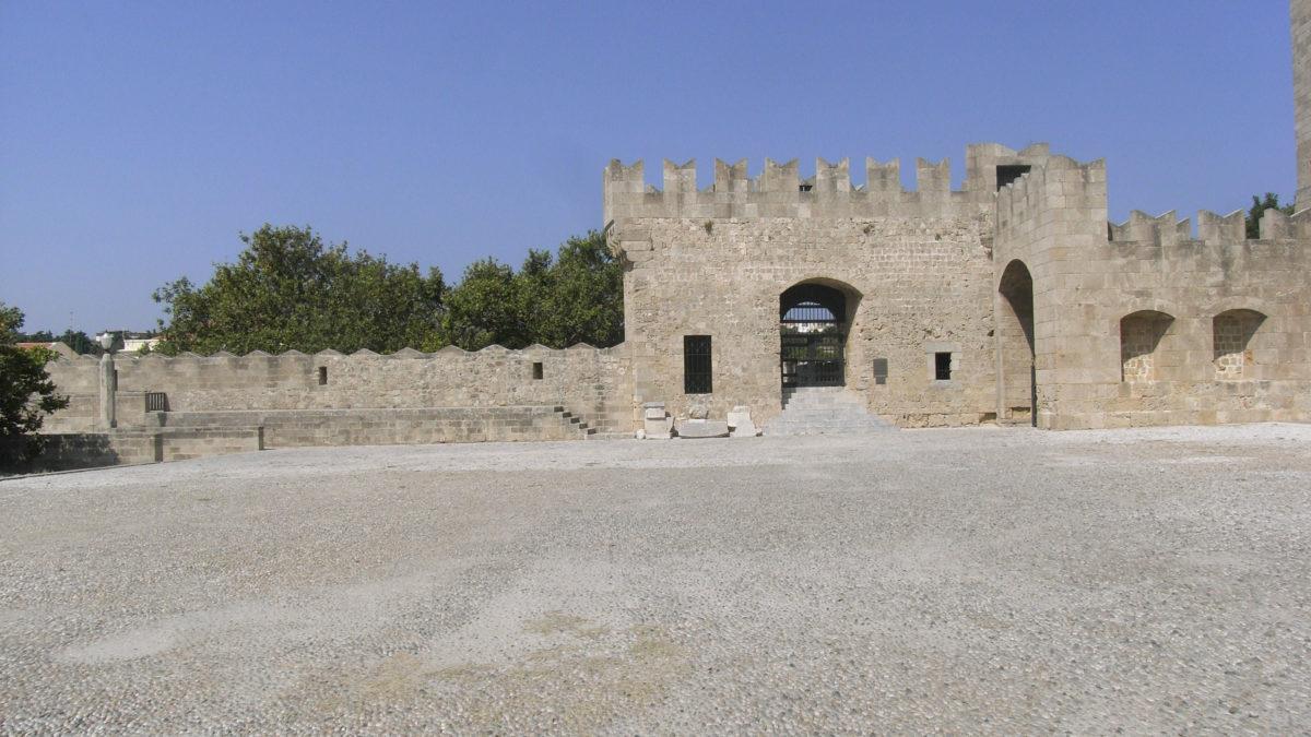 Stadtmauer von Rhodos Stadt