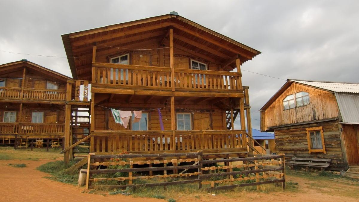 Das Sunny Hostel auf Olkhon Island im Baikalsee in Russland