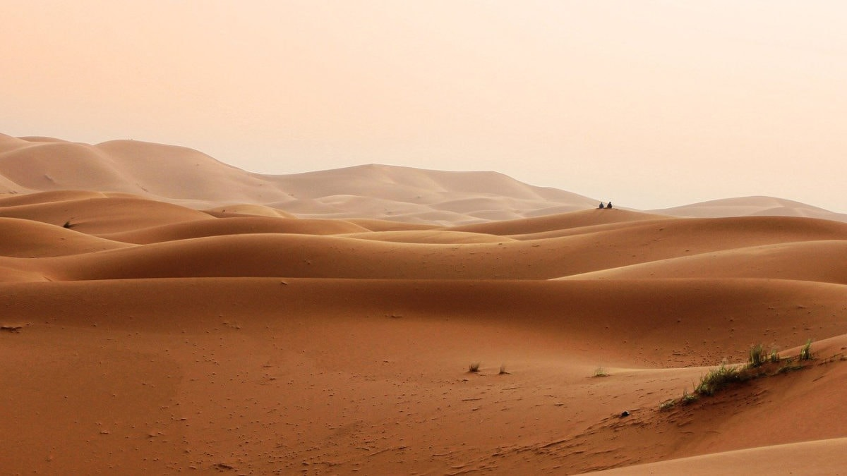 Wüstenlandschaft von Marokko