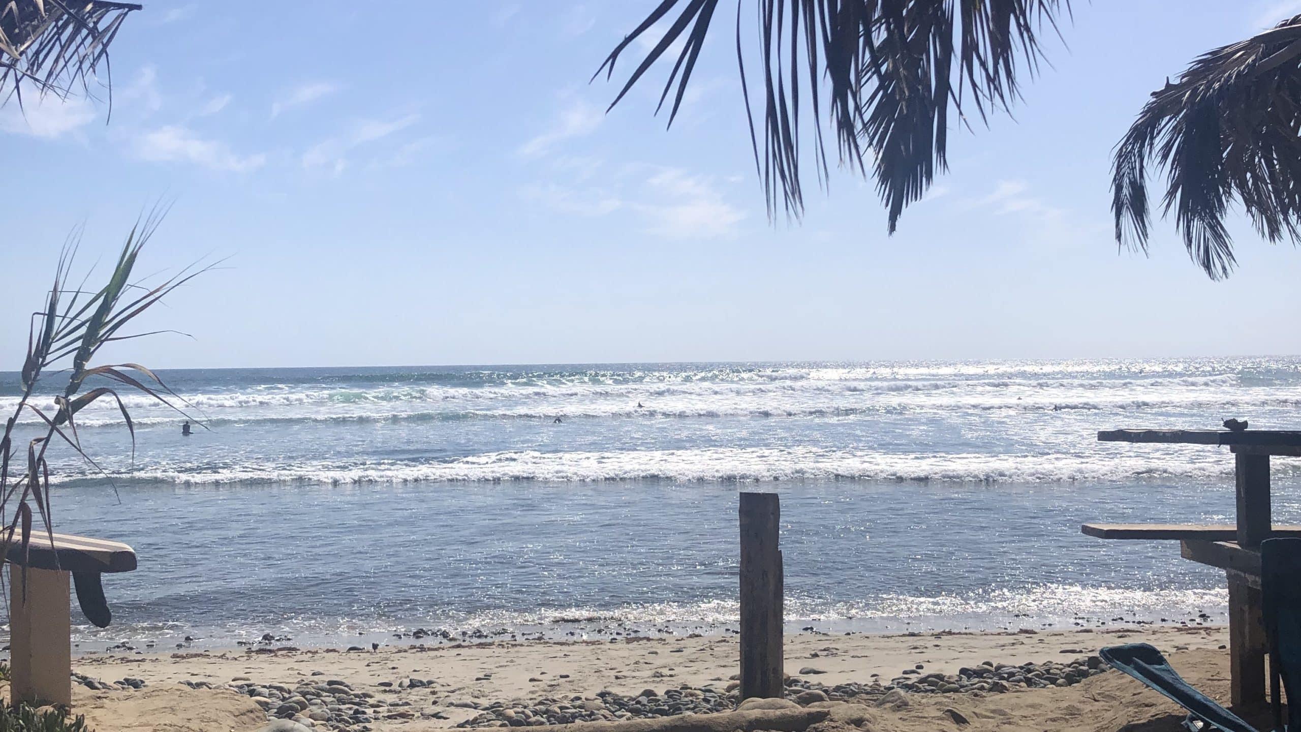 Das Paradies? Für Surfer auf jeden Fall! Der San Onofre State Beach