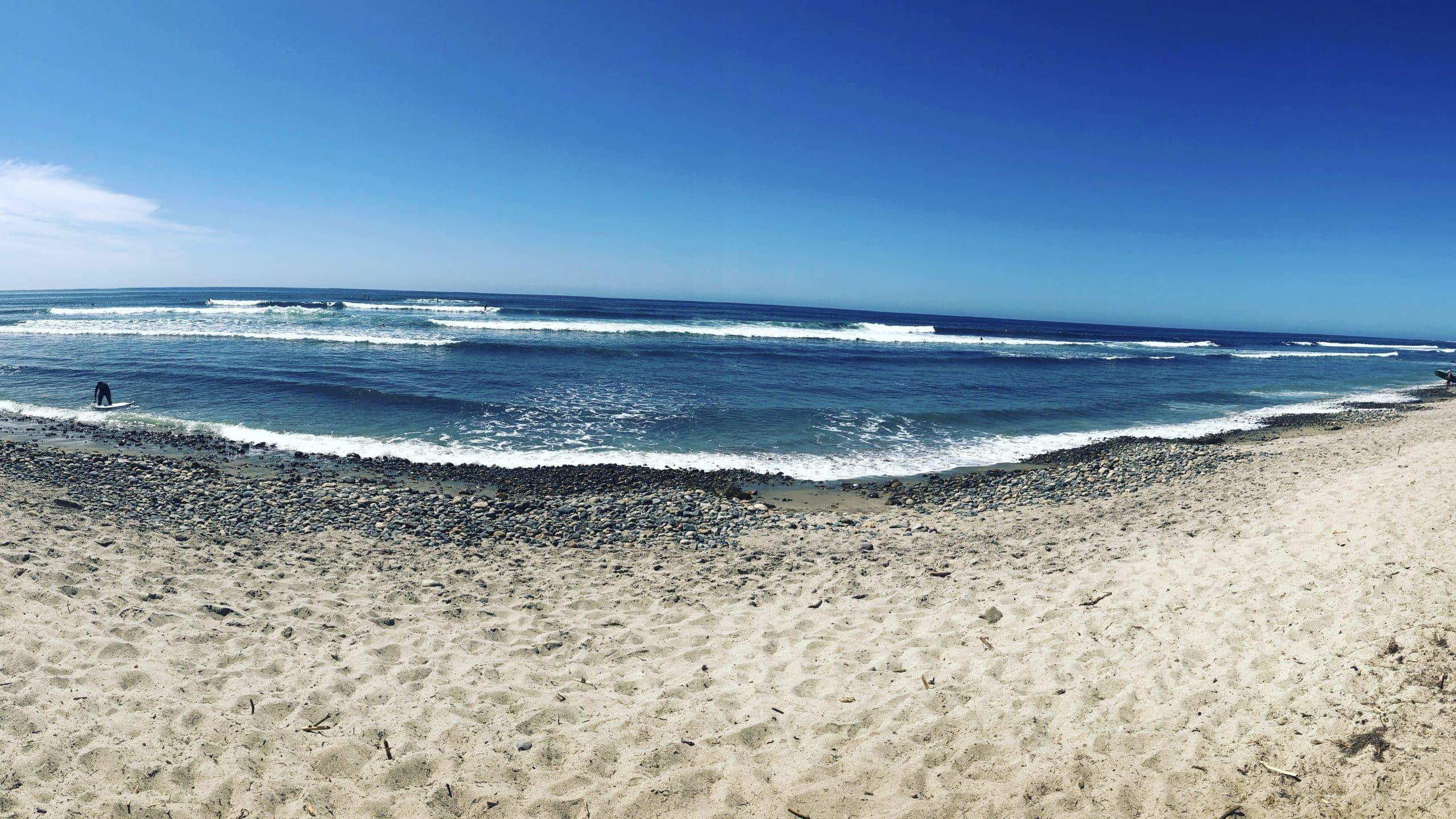 Das Meer am San Onofre State Beach