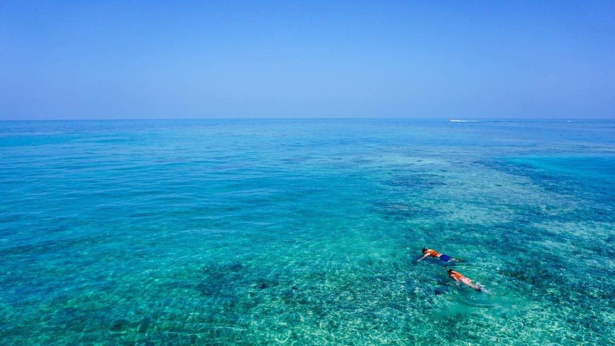 Schnorcheln vor Mauritius