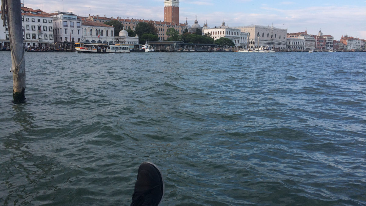 Am Kanal in Venedig