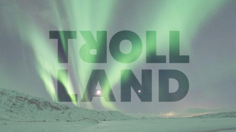 trollland vorm Polarlicht
