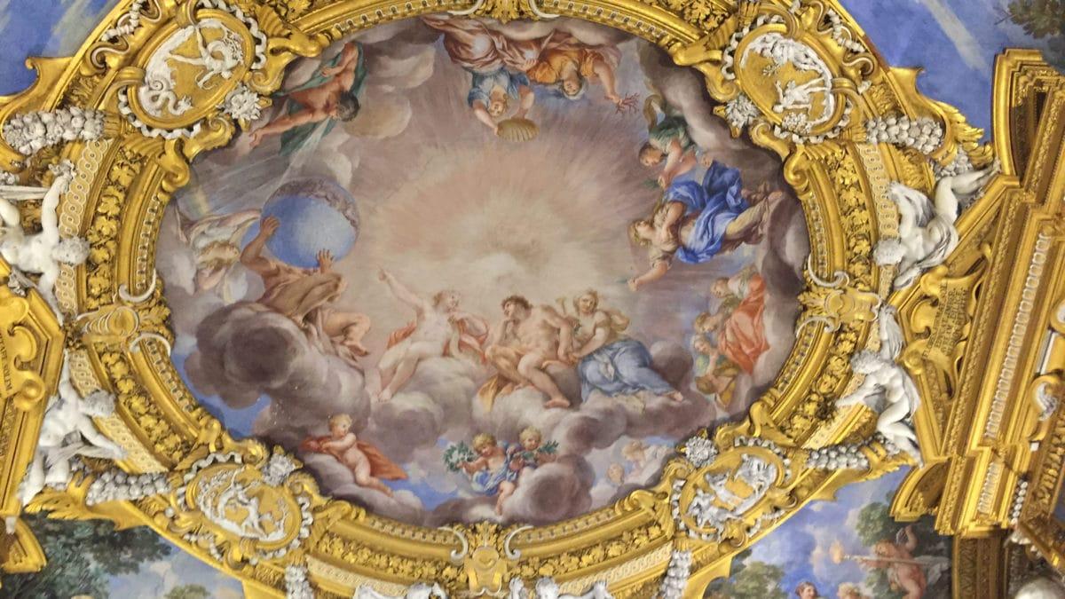 Deckengemälde Florenz