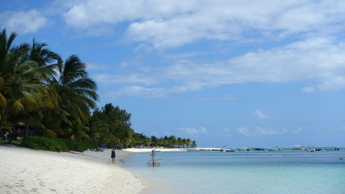 Strand in Le Morne auf Mauritius