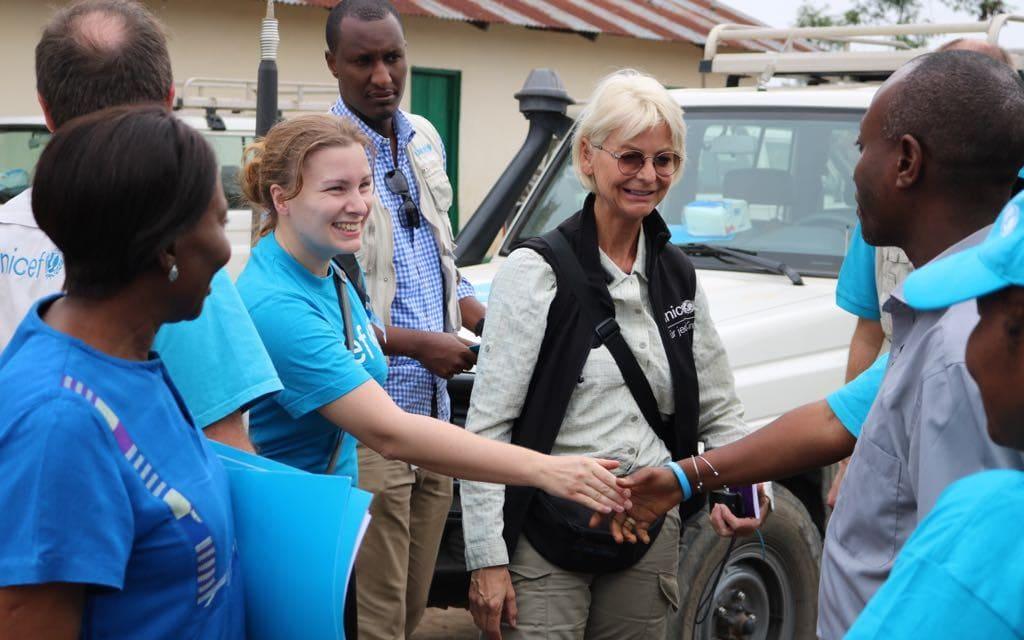 Susanne Stocker von UNICEF im Kongo