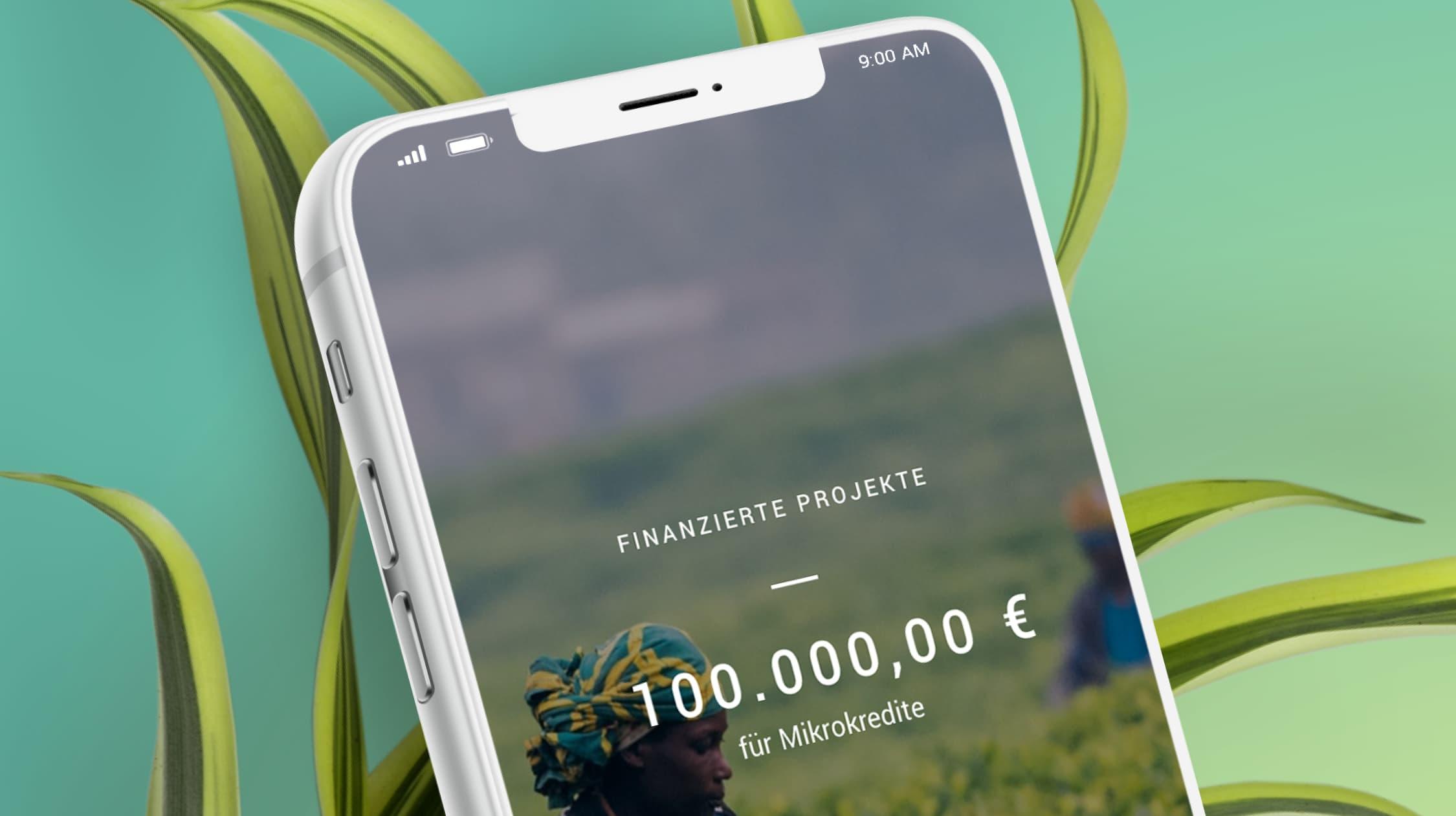 Bei Tomorrow managst du dein Geld ausschließlich über die App – auch im Ausland.