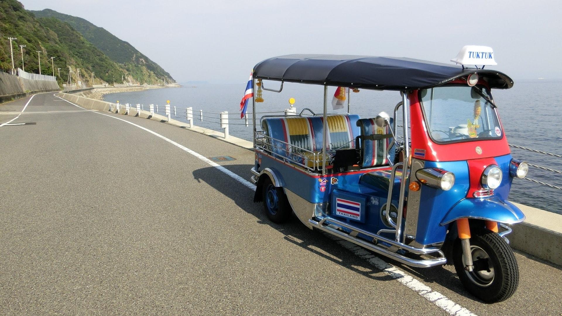 Ein Ausflug mit dem Tuk Tuk ist 1000 mal besser als mit einem Touribus.