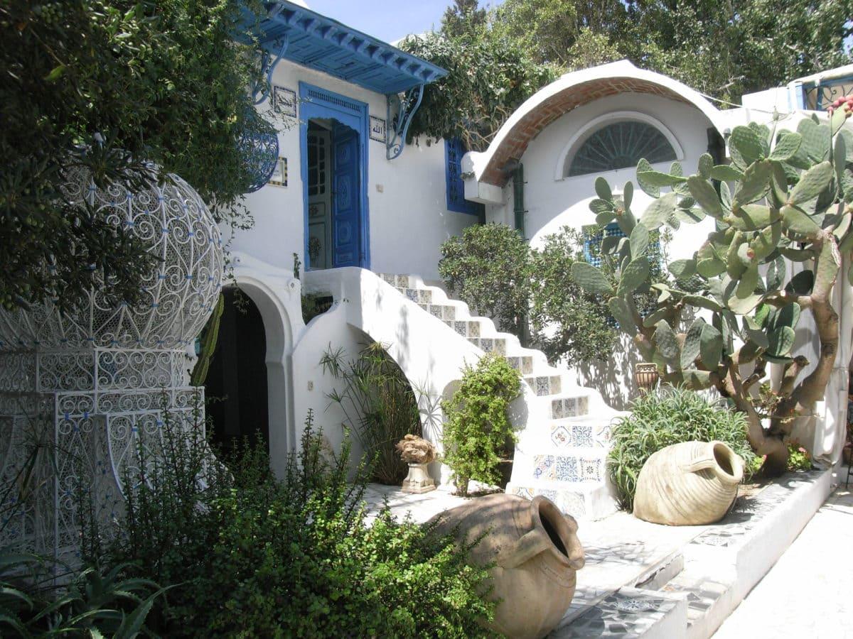 Das Künstlerdorf Sidi Bou Said in Tunesien