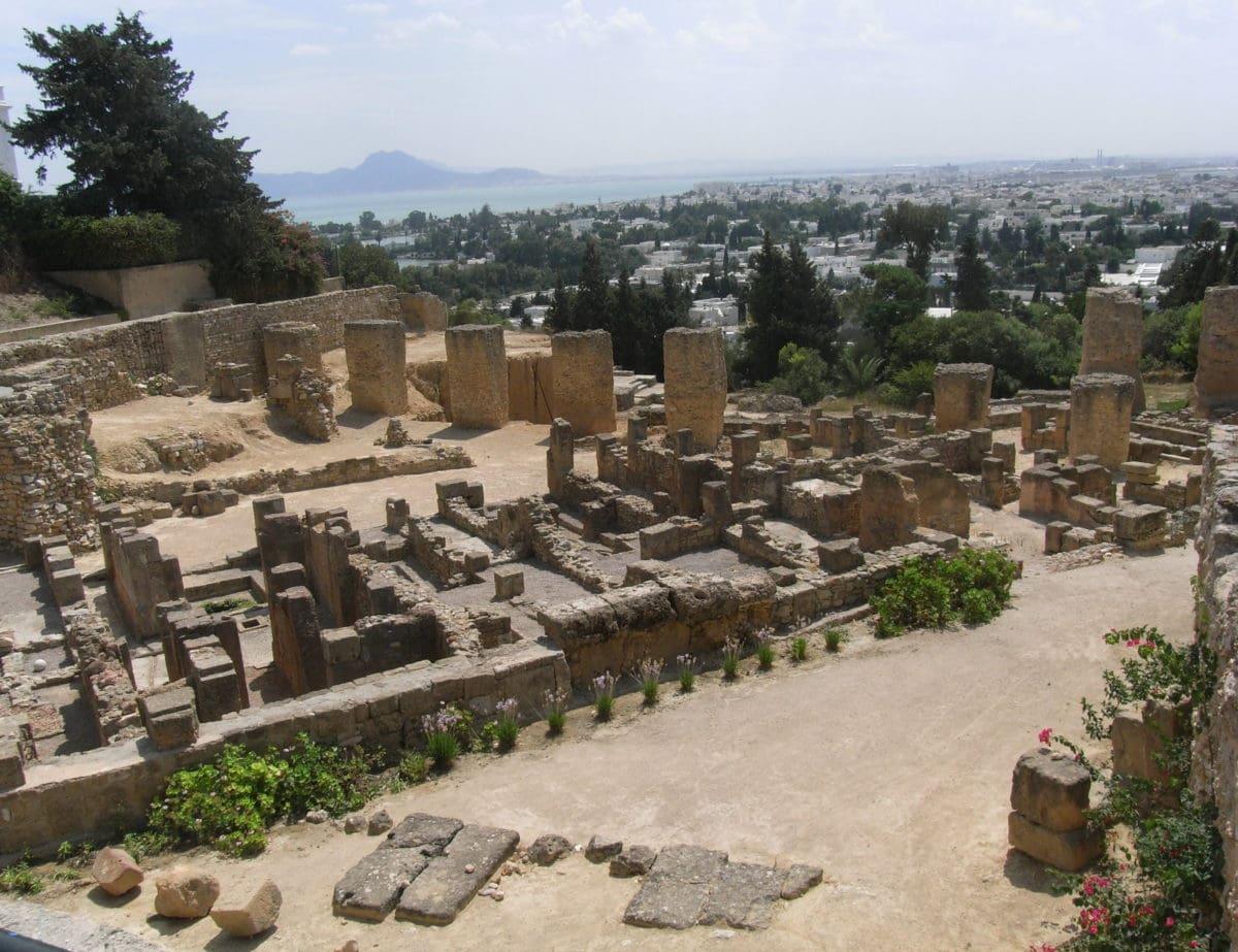Die antike Stätte Karthago