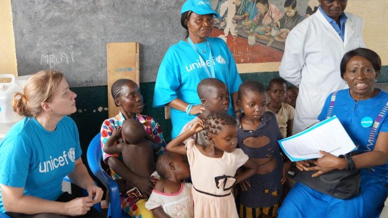 Susanne Stocker für UNICEF im Kongo