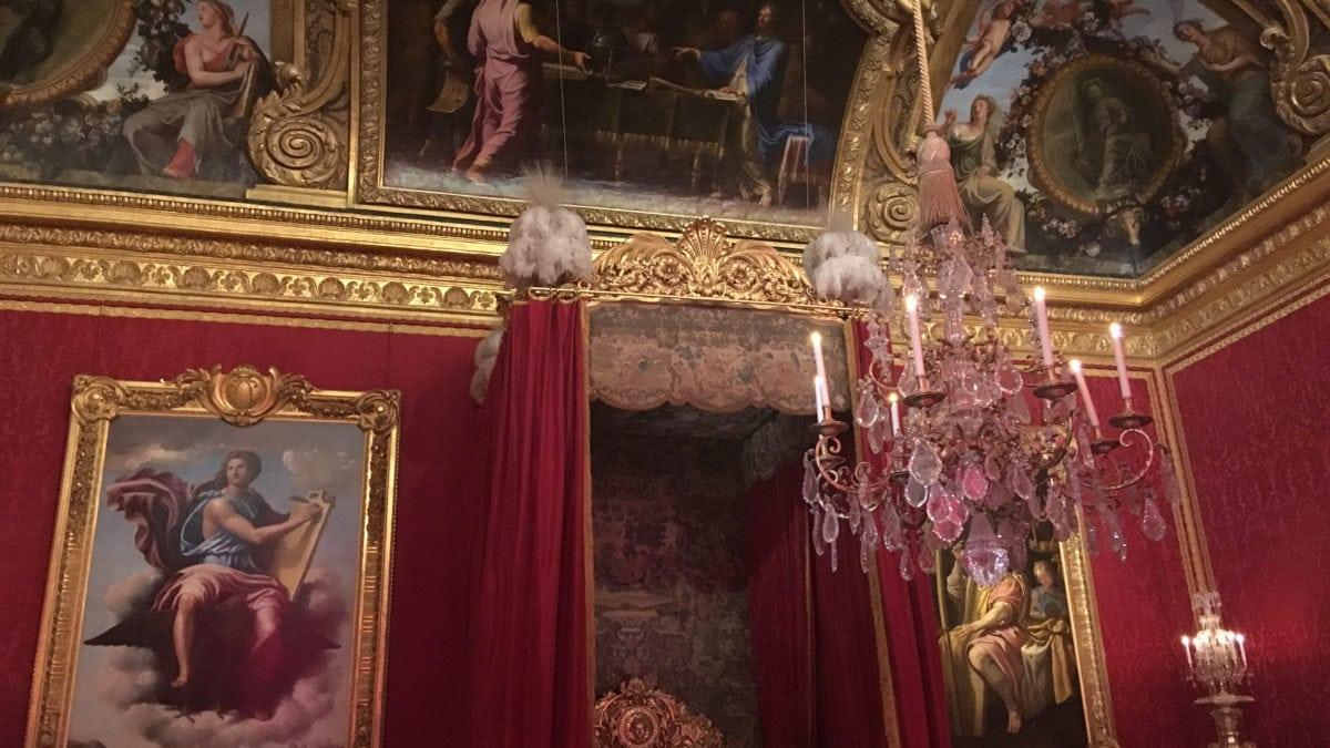 Gemach des Königs in Schloss Versailles