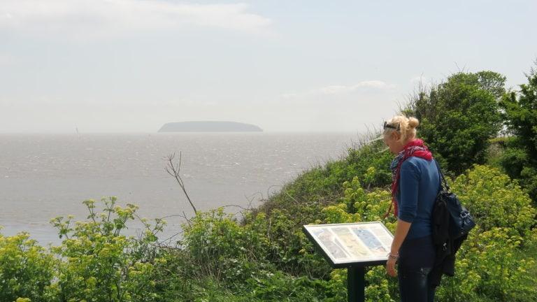 Wandern in Wales: Birte auf der Suche nach dem richtigen Weg