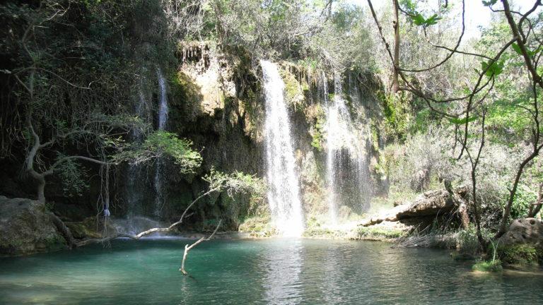 Wasserfall in Kursunlu Selalesi