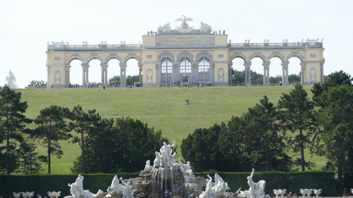 Gloriette bei Schloss Schönbrunn in Wien