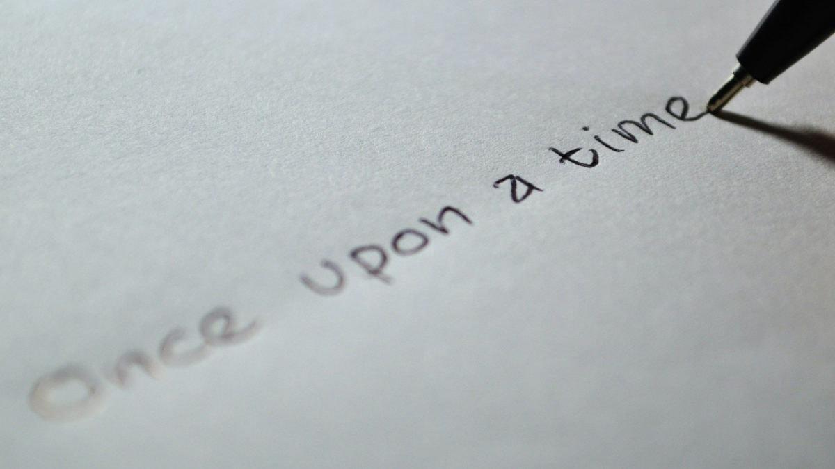 Gute Geschichten beginnen mit dem ersten Schritt, den wir mit unserer geschenkten Zeit tun.